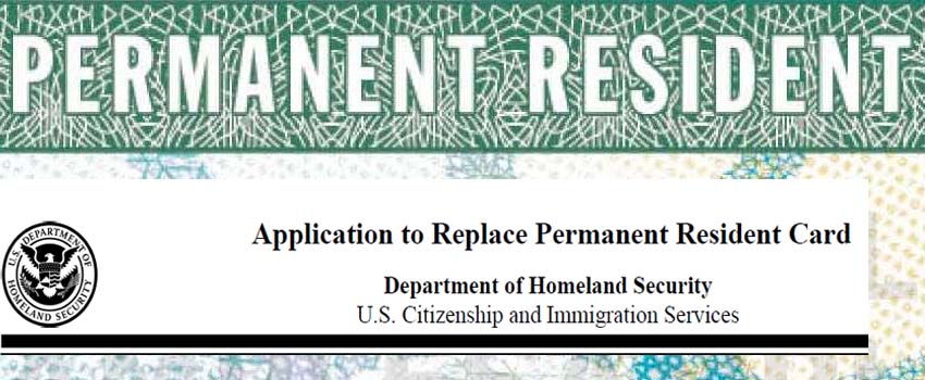 Green Card Renewal Form I-90 Application - Springfield Immigration ...