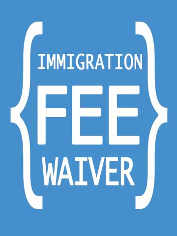 I-912 Request for Fee Waiver