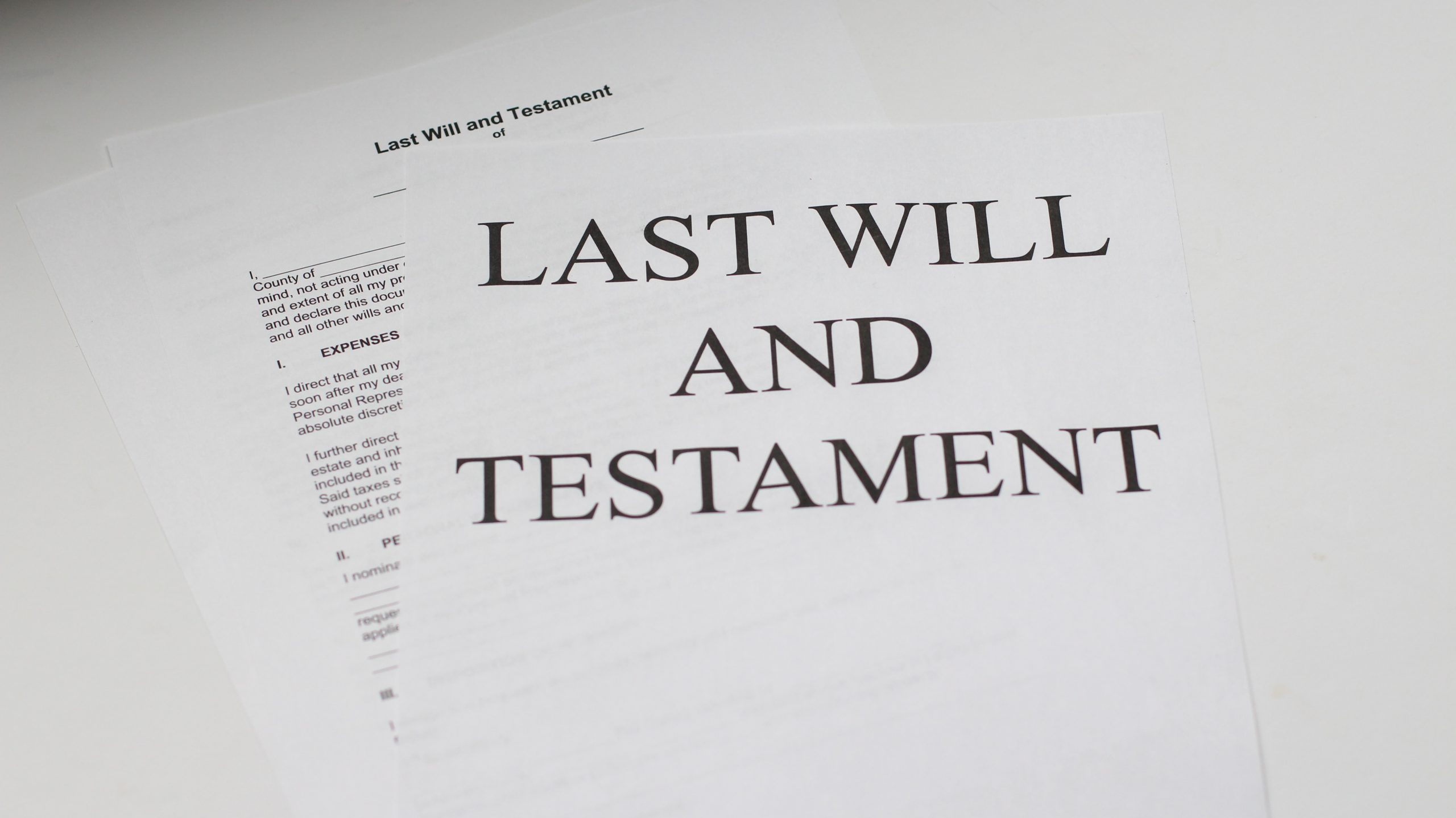 wills and probate attorney